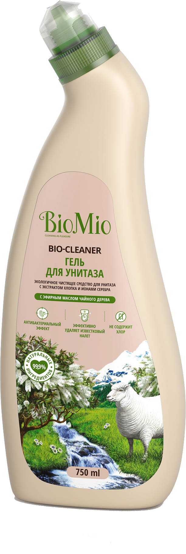 Чистящее средство BIO MIO 750 мл Bio-Toilt Чайное дерево фото
