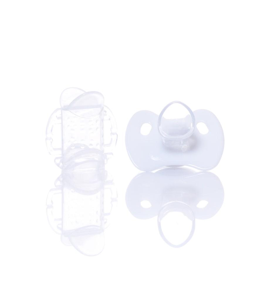 Картинка - Силиконовая соска-пустышка, ортодонтическая форма